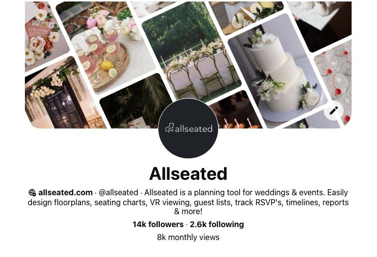 allseated Pinterest